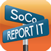 SoCo Report it logo