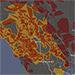 mapa de cortes de energia
