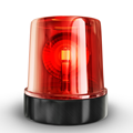 Red Warning light