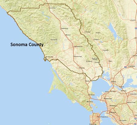 Sonoma County Cailfornia