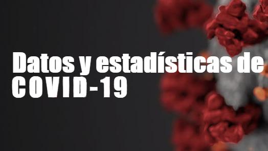 Datos y estadisticas de COVID-19