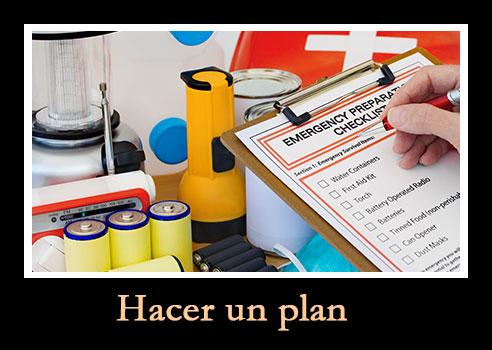 haga un plan