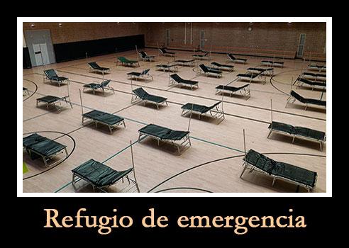 refugio de emergencia durante covid 19