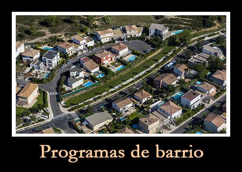 programas de barrio