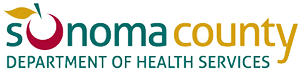 Department of Health Services logo, County of Sonoma