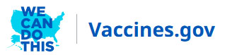 We can do this - Vaccines.gov logo